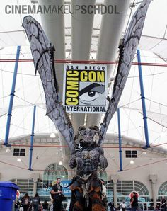 Wayne Anderson's Master of Monsters at San Diego Comic Con 2013.  #cms #cinema #makeup #school #Special #FX #SPFX #movie