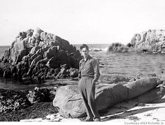 "Ed Ricketts, pioneering marine biologist, inspiration for the character ""Doc"" of Cannery Row, friend to John Steinbeck. University Of Victoria, Marine Ecosystem, Cannery Row, Dawn And Dusk, Picture Puzzles, Science Photos, American Literature, Historical Pictures, Pacific Coast"
