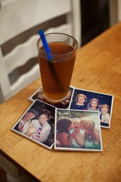 Just a little about nothing: DIY Photo Coaster