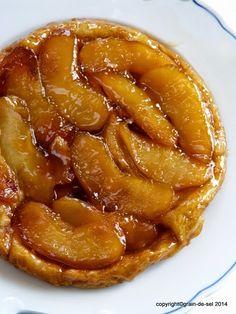Die Ultimative: Tarte Tatin aux pommes caramelisées - light
