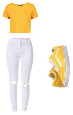 """Untitled #13"" by smithnialah on Polyvore featuring Boohoo and Vans"
