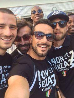 Juventus soccer team - Italian champions 2013-2014