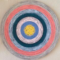 "Emin Özdemir — ""Hypnosis"" rotational oscillation, acrylic paint,... Mandala, Digital Art, Handmade, Inspiration, Painting, Ideas, Biblical Inspiration, Hand Made, Painting Art"