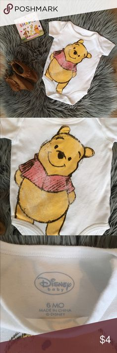 Baby clothes Winnie the Pooh Disney onesie Disney Shirts & Tops