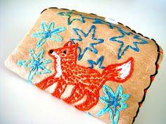 Lil Fox Wallet by sew.zinski, via Flickr