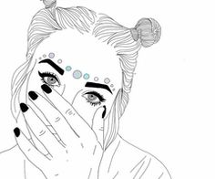 art, drawing, style, grunge, black and white
