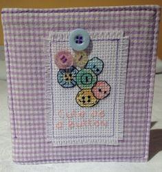 Mothers Day Gift  Cross Stitch & Gingham by OldNewBorrowedPurple, £5.00