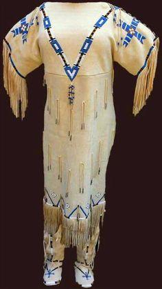 Love this Cherokee wedding dress!!