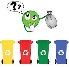 C'est parfois un casse-tête de s'y retrouver dans le tri des déchets alors j'ai pensé qu'un petit rappel serait utile. ATTENTION : un déchet souillé par de la nourriture n&r… Weather Crafts, Recycling Bins, Science Activities, Sorting, Yoshi, Education, Cycle 2, Earth Day, Volumes