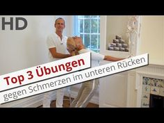Top 3 Übungen gegen Schmerzen im unteren Rücken // Rückenschmerzen, Lendenwirbelsäule, - YouTube