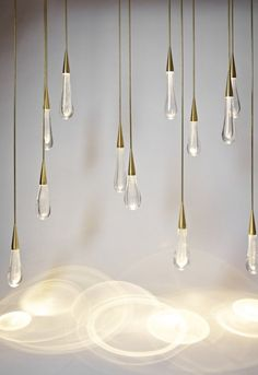 Chandelier The Pour par Design Haus Liberty