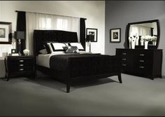 Black Distressed Bedroom Furniture