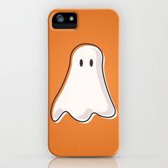 Halloween+Ghost+iPhone+&+iPod+Case+by+ElekTwick+-+$35.00