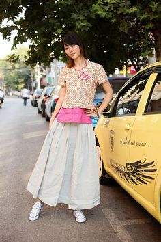 Light+beige+linen+long+skirtmore+colour+and+size+by+thesimpson,+$59.00