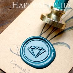 Wax Seal Stamp- I want one sooo bad, with an M for my married last name