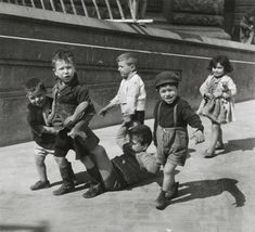 Italian Vintage Photographs ~ #Italy #Italian #vintage #photographs  ~ Willy Ronis, Little Neopolitans, 1938