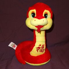 Fun snake to play with.  Any little boy will love it.  http://www.ebay.com/itm/Snake-Red-Yellow-Luyouyou-Plush-Stuffed-Animal-10-Suction-Cup-/142083591045
