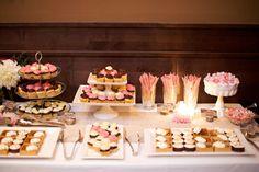 I love the dessert bar idea