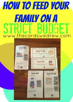 Feed your family of five on a budget of $110/week! Tips and tricks for shopping on a tight budget.