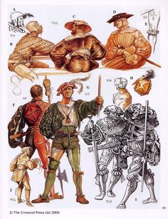 Diseños personajes Warhammer