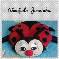 Almofada Joaninha