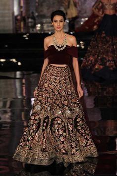 Indian Couture Week 2016 Delhi  Photo: Vogue India for replica or custom bridal and party wears email zifaafstudio@gmail.com visit us at www.zifaaf.com