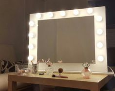 Espejo para maquillaje por MiroirDeStar en Etsy