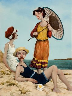 Fred Calleri - Summer time by the beach ...