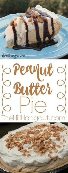 Peanut Butter Pie from TheHillHangout.com