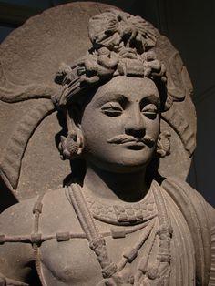 Bodhisattva de Shahbaz-Garhi