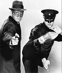 Van Williams & Bruce Lee in the original Green Hornet 1966