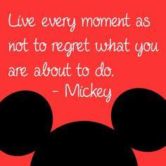 #MotivationalMonday Mickey Mouse Quotes, Mickey Mouse Crafts, Mickey Mouse Cartoon, Mickey Mouse And Friends, Minnie Mouse, Life Quotes Love, Great Quotes, Quotes To Live By, Inspirational Quotes