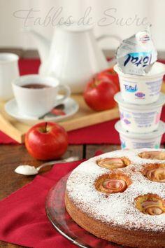 Torta di mele e yogurt greco