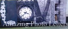 Want to Create your own version or word? www.amazingphotoletters.zenfolio.com  Price includes clip frame. $10 per letter +s/h