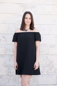 Classy Boho dress with amazing fringe detail on the sleeves. The best off the shoulder dress for the season!!!