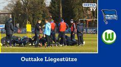 Outtake Liegestütze - Hertha BSC - Bundesliga - Berlin - 2015 #hahohe