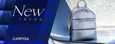 Carpisa | Női táskák webáruháza | Rubikonfashion New Trends, Leather Backpack, Fashion Backpack, Backpacks, Bags, Handbags, Leather Book Bag, New Fashion, Leather Backpacks