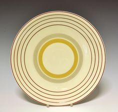 Dinner plate by Nora Gulbrandsen for Porsgrund Porselen. Production year 1927-37. Model 1795.2  Decor 6691
