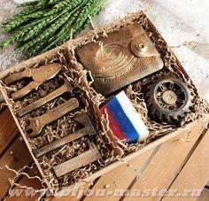 Отличный подарок мужчине - набор мужского мыла ручной работы ХОЗЯИН! арт.003265