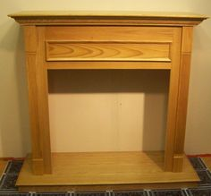 cfm wall cabinet for gas fireplace insert 36in honey oak model f0wh36 new