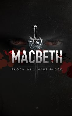 Macbeth... inspiration it just gives me a good vibe it does kill so the sword is a good part