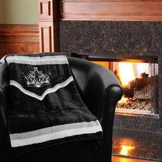 "Los Angeles Kings 50"" x 60"" Jersey Plush Blanket"