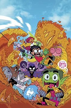 Teen Titans Go! #1 Free Comic Book Day Cover