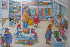 TOUCH this image: interactieve praatplaat thema kleding (peuters) by Nancy Derks-Kooistra Eskimo, Vans Top, Picture Writing Prompts, Trek, Scene, Clip Art, Cartoon, School, Kids
