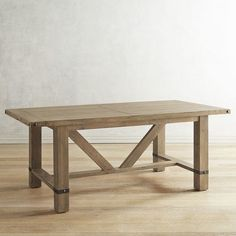 You'll have a true farm-to-table experience with our Siena Dining Table. The chunky, farmhouse-inspired table features subtle wear marks and metal stud and band accents. The generously sized table seats up to eight, plus it has a rustic driftwood finish that adds to its Old World charm.