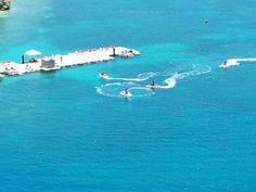 Water sports in Haiti