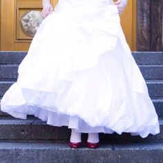 Ah...those ruby slippers!  Home is where your heart is...especially the new home of a new bride!
