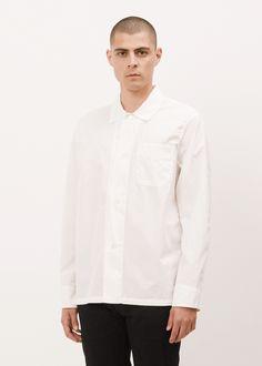 Totokaelo MAN - Our Legacy White Poplin Box Shirt