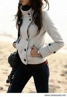 Cool grey jacket