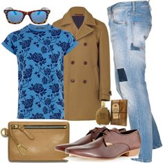 Untitled #264 by kuko-lira on Polyvore featuring Topman, Dsquared2, PS Paul Smith, Coach, Diesel and ASOS